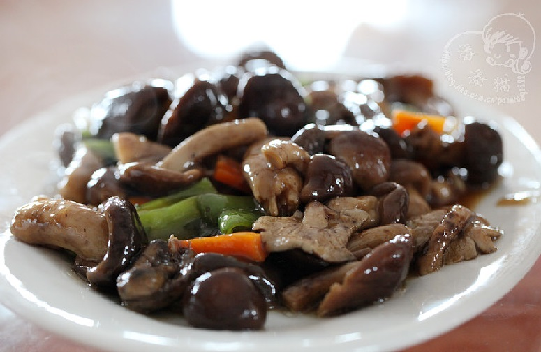 鲍鱼酱炒鲜菇